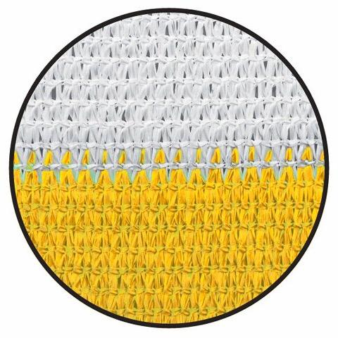 Balkonblende Profiline 5x0.9m weiss-gelb #4