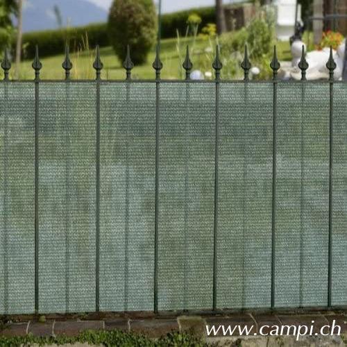 Sichtschutzblende 15x1 m grün