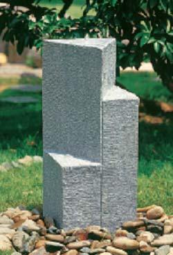 Gartenbrunnen Trial aus Kunststein  H=60cm