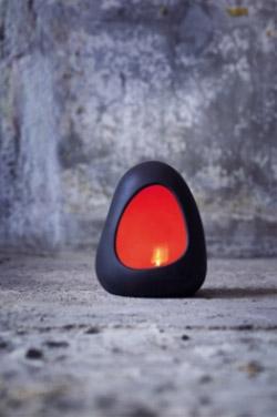 Magma Lampe (Domolit) rot H=20 cm #2