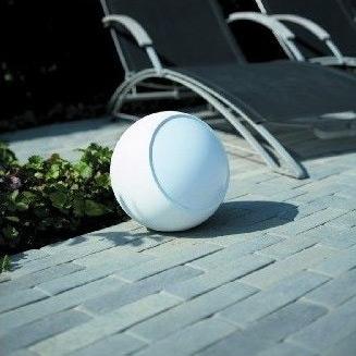 Kugellampe D=21 cm weiss (ohne Kabel)
