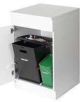 Abfallsystem Müllex mit Compost 35/5 Liter