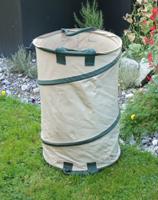 Gartensack mit Springrahmen 120 Liter Profi PU-Gewebe (250gr)