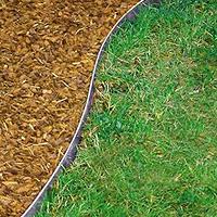 Metallrandeisen für Rasen- und Beetkanten verzinkt 118x13 cm
