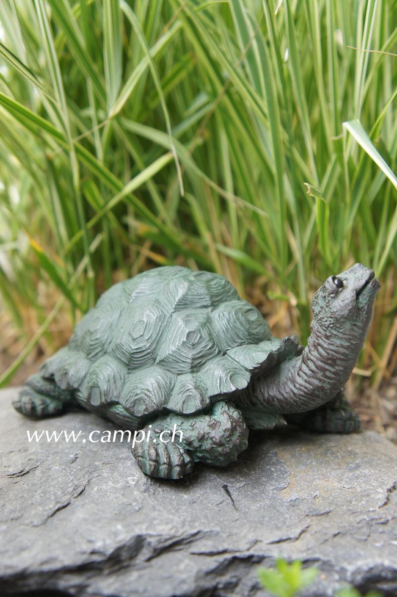 Schildkröten-Baby Gartenfigur 12x10x7 cm #2