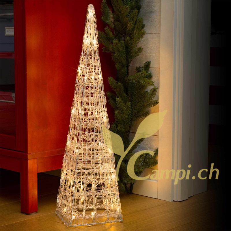 Acryl-Leuchtpyramide 60 cm für innen #2