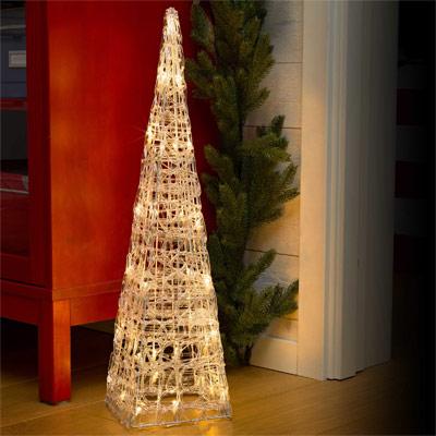 Acryl-Leuchtpyramide 60 cm für innen